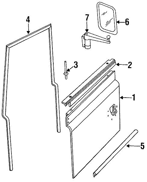 1995 land rover defender 90 finisher  upper panel  soft top