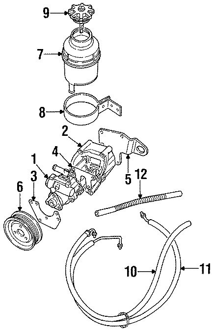 1999 Land Rover Discovery Bracket