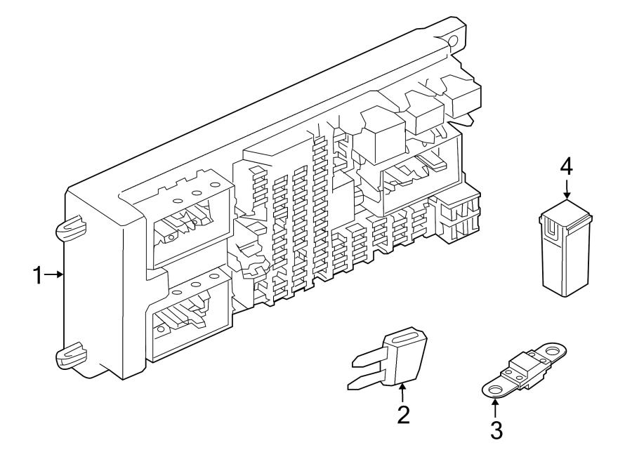 2015 land rover range rover circuit breaker  maxi fuse  compartment  amp  luggage