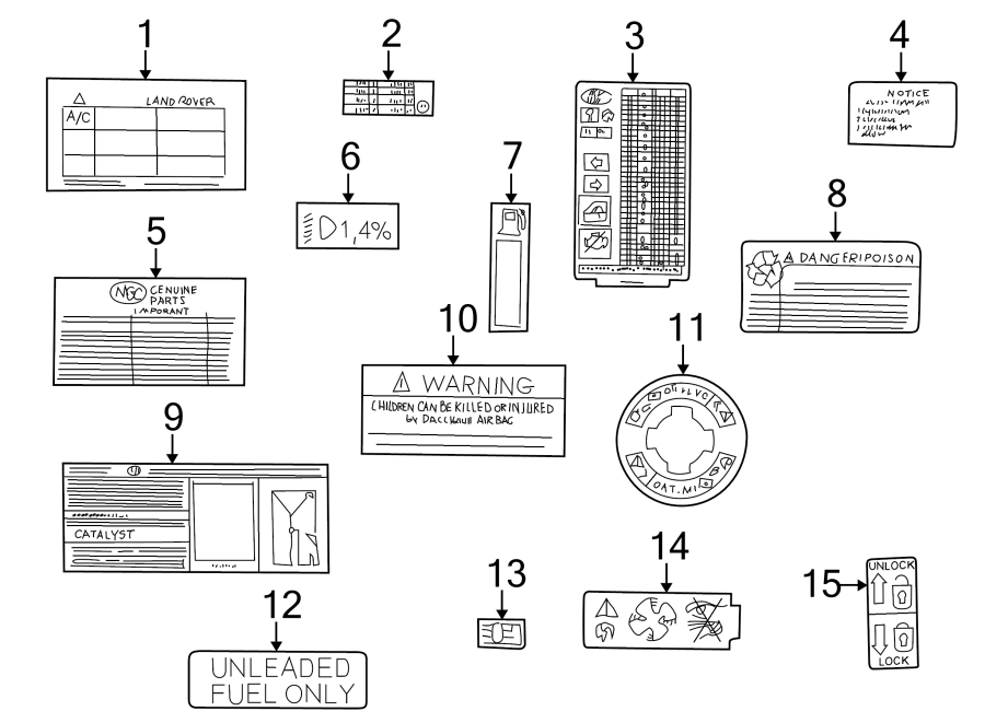 2004 Land Rover Freelander Fuse Box Diagram Full Hd