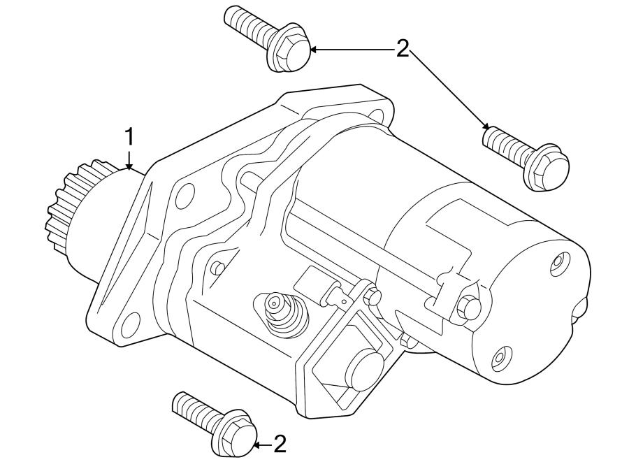 2004 land rover freelander starter motor  starter motor