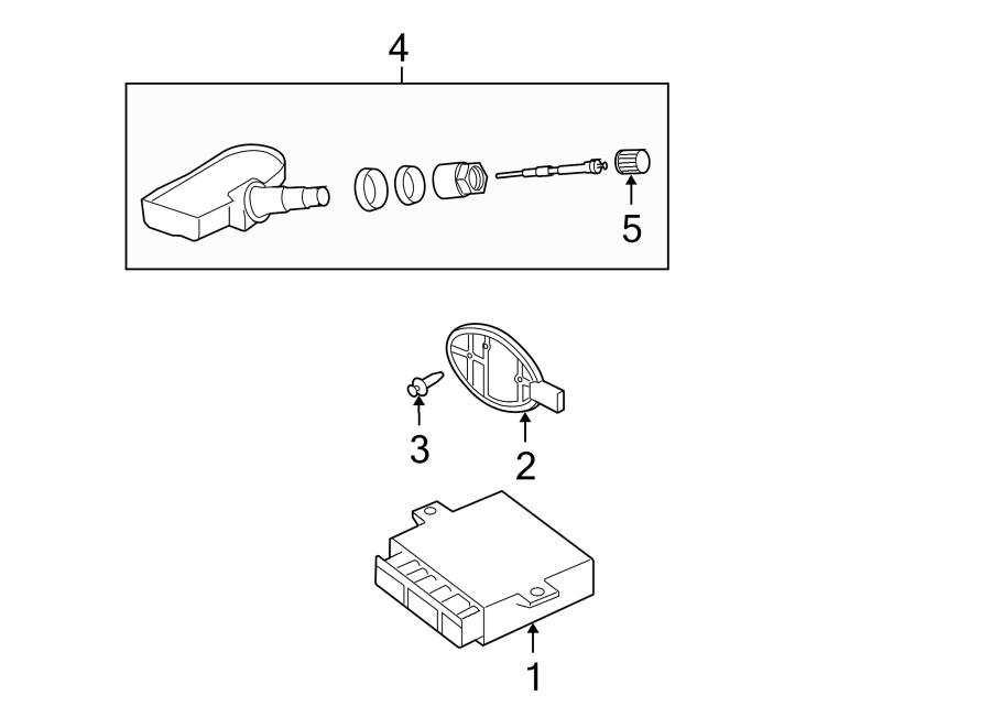 2006 land rover lr3 tire pressure monitoring system. Black Bedroom Furniture Sets. Home Design Ideas