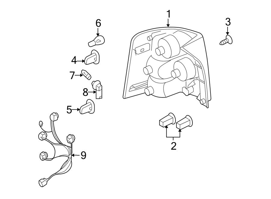 2007 land rover range rover sport wire socket harness. Black Bedroom Furniture Sets. Home Design Ideas