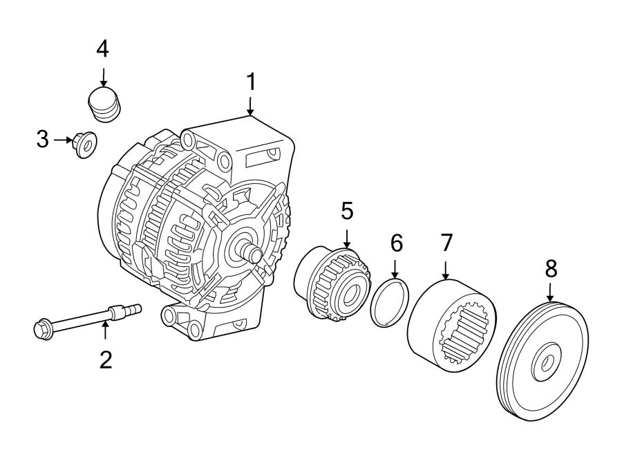 2008 land rover lr2 alternator bolt alternator mount bolt. Black Bedroom Furniture Sets. Home Design Ideas