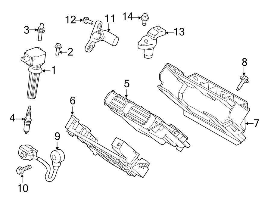 2015 Land Rover Lr2 Engine Control Module  2013