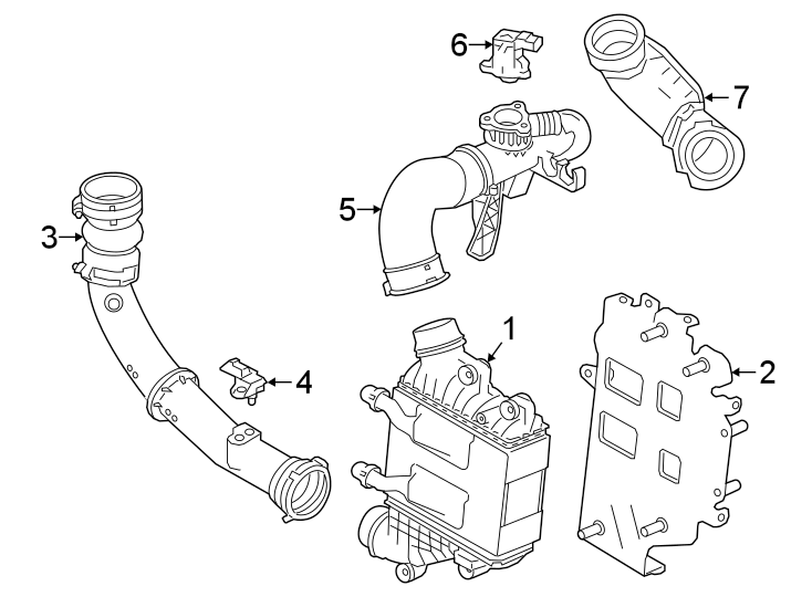 2018 land rover discovery sport intercooler  cooler