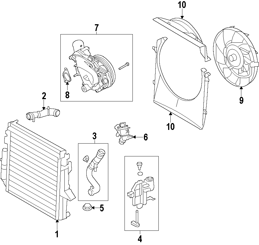 F on Land Rover Discovery Cooling System Diagram