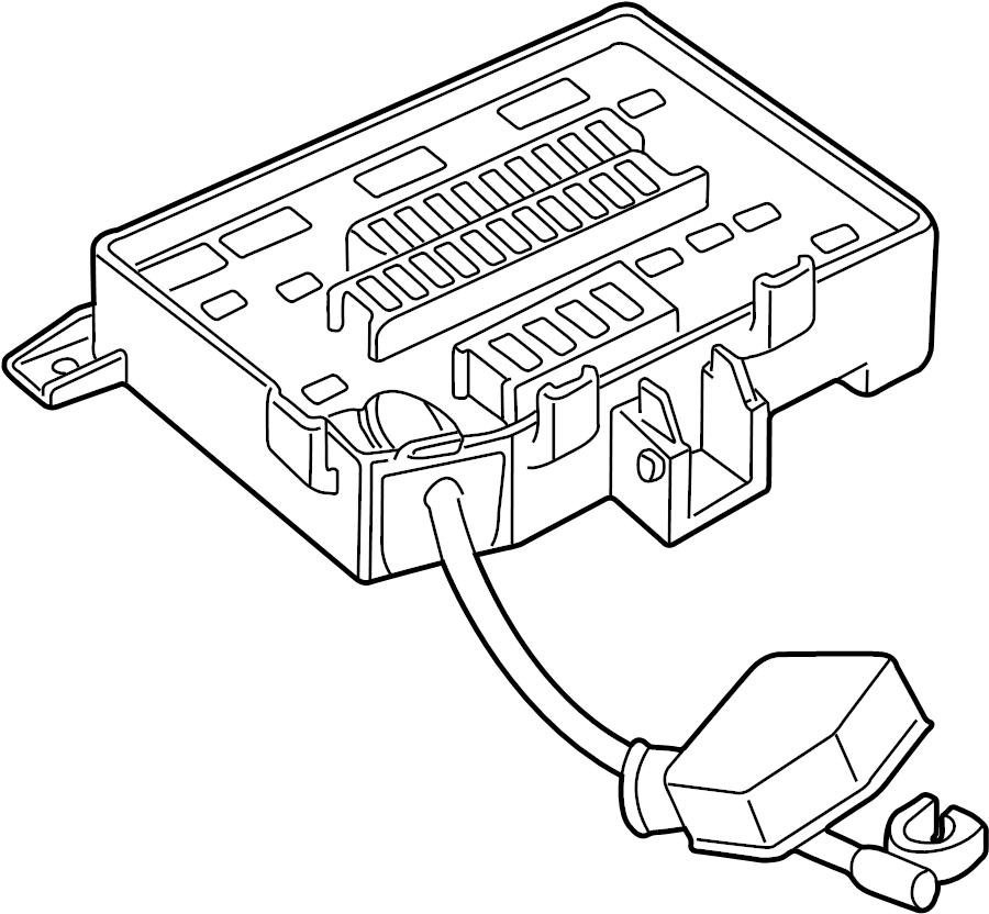 2001 land rover range rover fuse box
