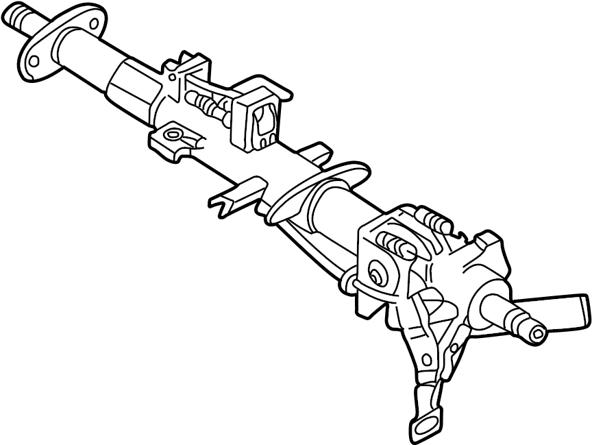 1998 land rover range rover steering column  range rover