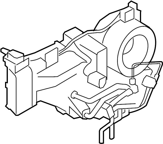 2011 Land Rover LR4 Heater. And. Case. Amplifier. Evapora