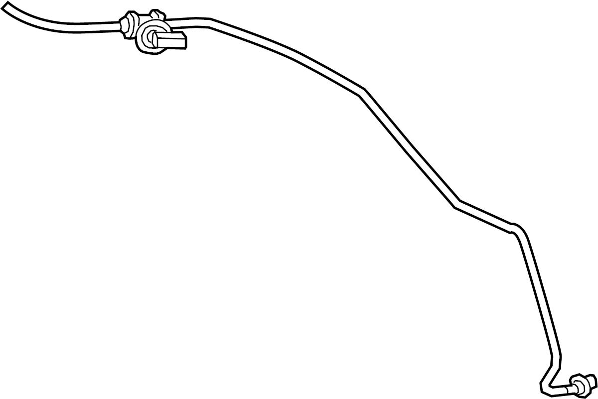 2016 land rover range rover hose