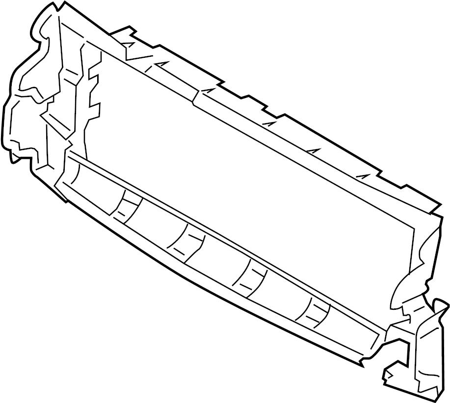 2014 Land Rover Range Rover Evoque Deflector