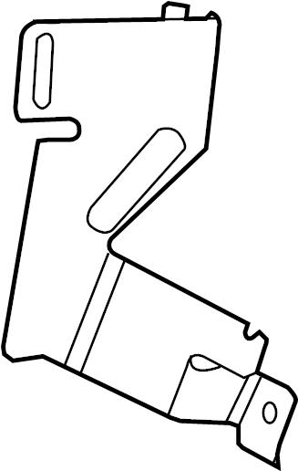 2014 land rover lr2 bracket  fuse  box  relay  instrument panel  instrument panel  2013