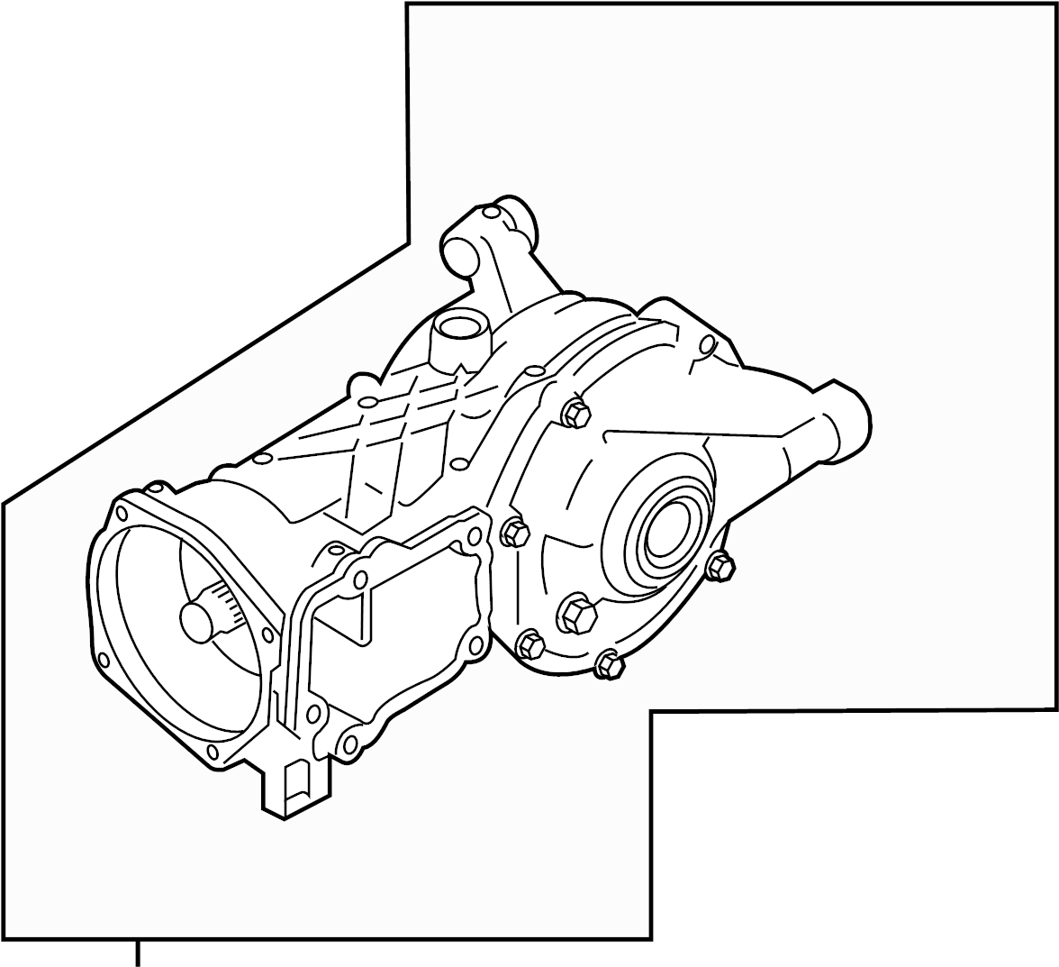 2016 Land Rover Discovery Sport Carrier. Differential