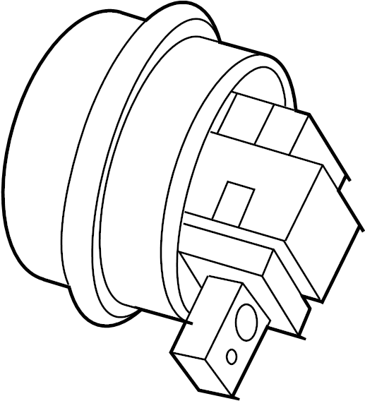 1998 land rover discovery cruise  control servo  actuator  pump - vacuum  vacuum tank